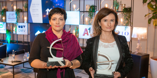 Pogovor z letošnjima dobitnicama priznanja Artemida